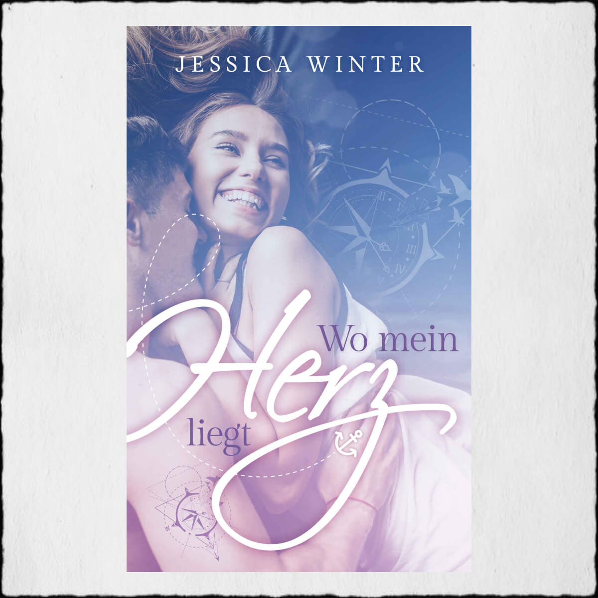 "Jessica Winter ""Wo mein Herz liegt (ready-to-be-found 2)"" © 2019 Jessica Winter in Selbstpublikation"