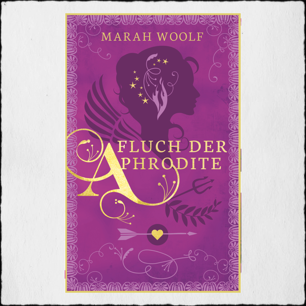 "Marah Woolf ""Fluch der Aphrodite"" © 2020 Marah Woolf in Selbstpublikation"