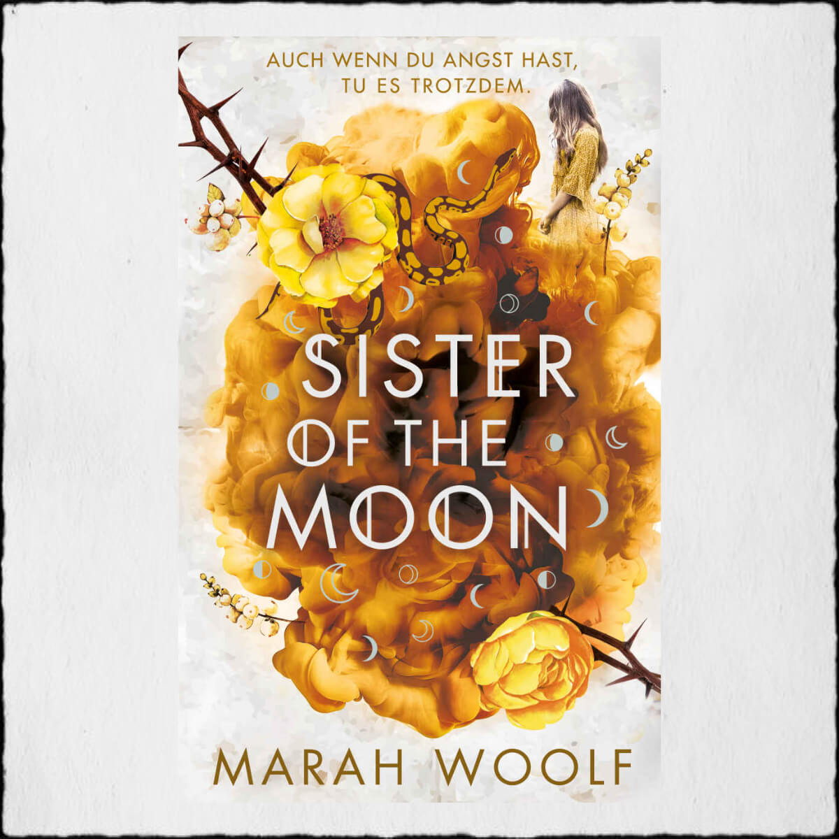 "Marah Woolf ""Sister of the Moon - HexenSchwesternSaga 2"" © 2020 Marah Woolf in Selbstpublikation"